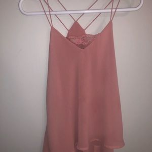 Tops - Mauve blouse